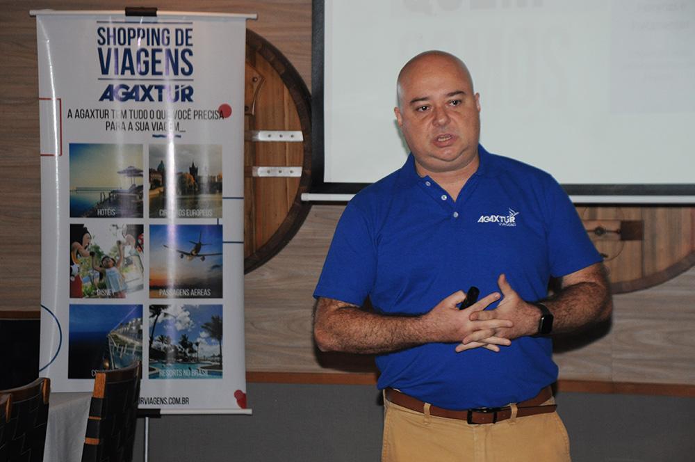 Guilherme Reis, gerente de Vendas da Agaxtur no RJ