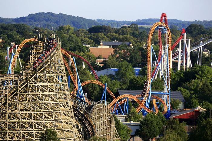 O HersheyPark é o maior parque temático de chocolate do mundo, com mais de 70 atrações
