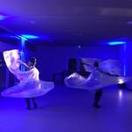 """Espaço chamado """"Aquário"""" é constituído por paredes de vidro e conta com iluminação natural durante o dia"""