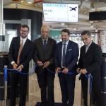Inauguração do voo Roma - Ilha do Sal