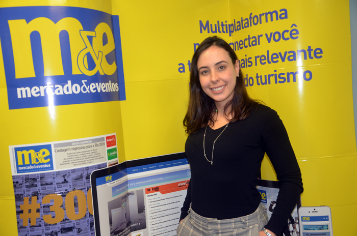 Jéssica Michelin, gerente de Marketing do Palladium Hotel Group no Brasil
