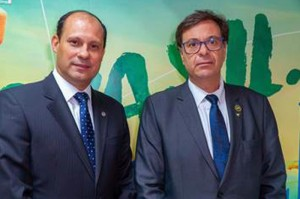 José Ricardo Botelho, presidente da ANAC, e Gilson Machado Neto, presidente da Embratur