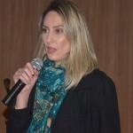 Karla Cavalcanti fez uma apresentação sobre as características e o perfil de turismo no estado do Mato Grosso do Sul