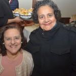 Lêdda Marotti, da LM Promoções, e Edna Veloso, da Extrema