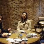 Luciana Longo, da Avianca Internacional; Ana Taquecita, da New Age; e Isaias Pereira, da Flot