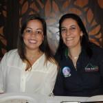 Manoela Souza, da 4 Cantos, e Cristiana Chao, da Martha Rio