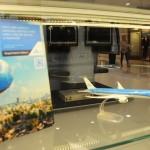 Maquetes contam um pouco da história das operações da KLM no Brasil e no Mundo