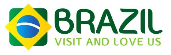 Nova marca Brasil, que será apresentada pela Embratur