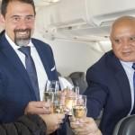 Mario Chaves, CEO Interino, e Raul Andrade, vice-presidente de Vendas e Marketing da Cabo Verde