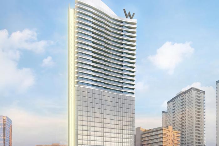 W Buenos Aires promete trazer hospedagem e residências de luxo à capital argentina até 2024 (Divulgação)