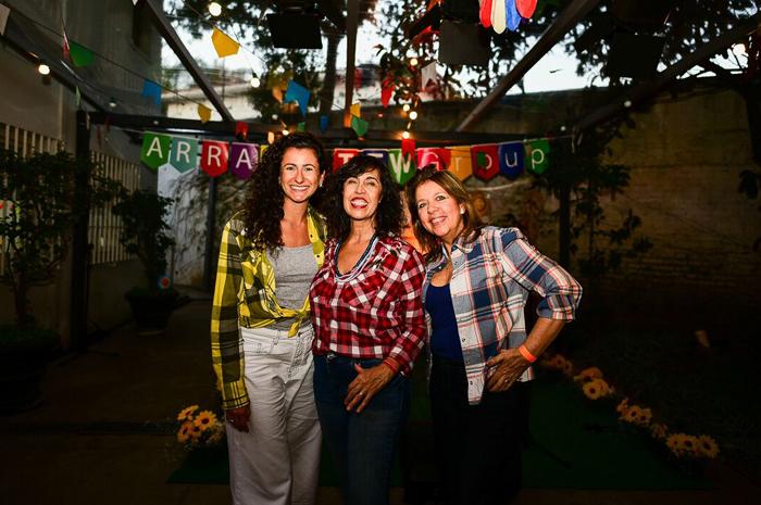 Milena Maggi, da agência Original Miles; Sylvia Silva, do TTW Group; e Sheila Pinho, da agência Sheila Hinz