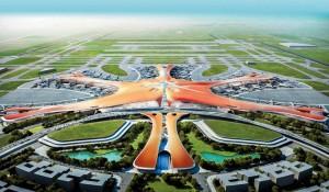 Com investimento de US$ 14,5 bi, novo aeroporto de Pequim tem obras concluídas