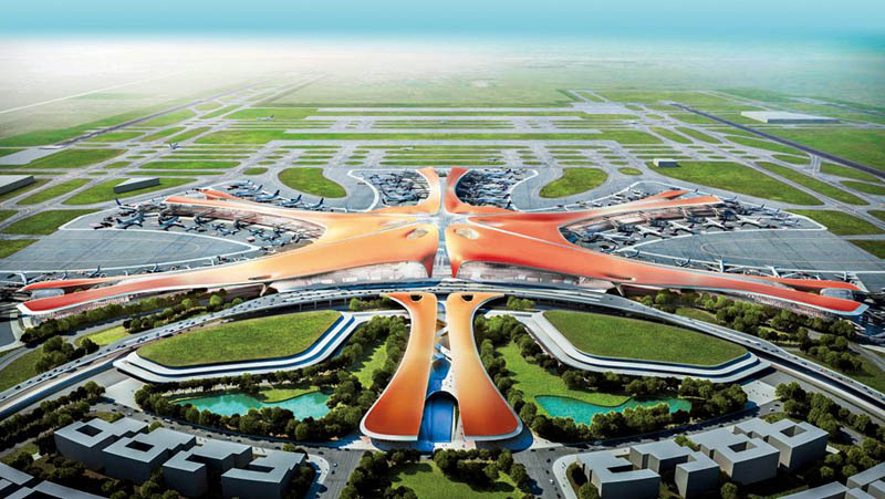 Novo aeroporto Pequim Daxing