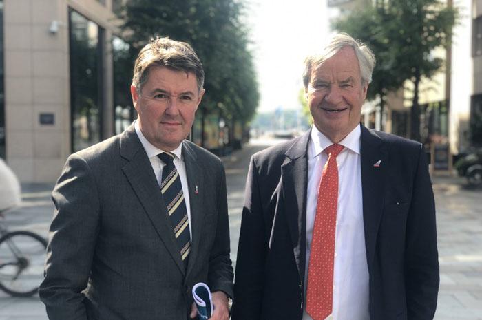 O CFO, Geir Karlsen, assume o comando da companhia interinamente com a saída de Bjørn Kjos