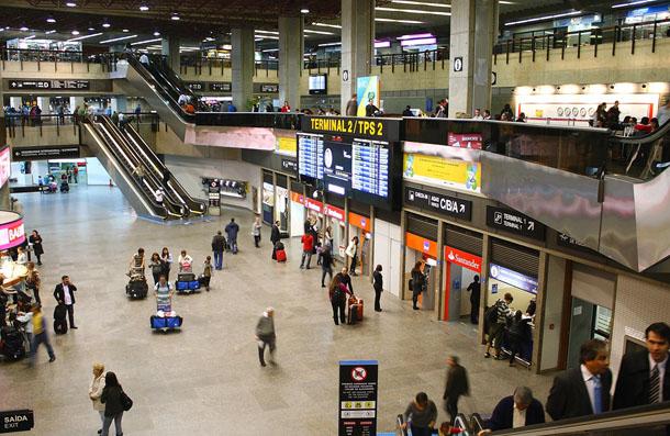 Este foi o maior volume de passageiros registrado nos 35 anos de operações do Aeroporto Internacional de São Paulo, em Guarulhos