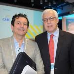 Otávio Leite, secretário de Turismo do RJ, e Marcio Favilla