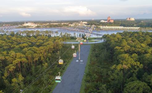 Disney Skyliner abre para o público no dia 29 de setembro