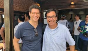 De olho nas taxas, presidente da Embratur e ministro do Meio Ambiente visitam Fernando de Noronha