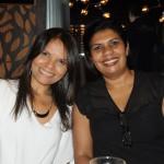 Patricia Sabbadin, da VIP Class Travel, e Cristiane Azevedo, da Serra Tour