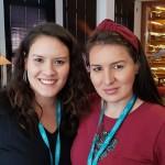 Patricia Takeya (Elos Turismo, Marilia) e Talita Polidoro (Raquel Paleari, Bauru)
