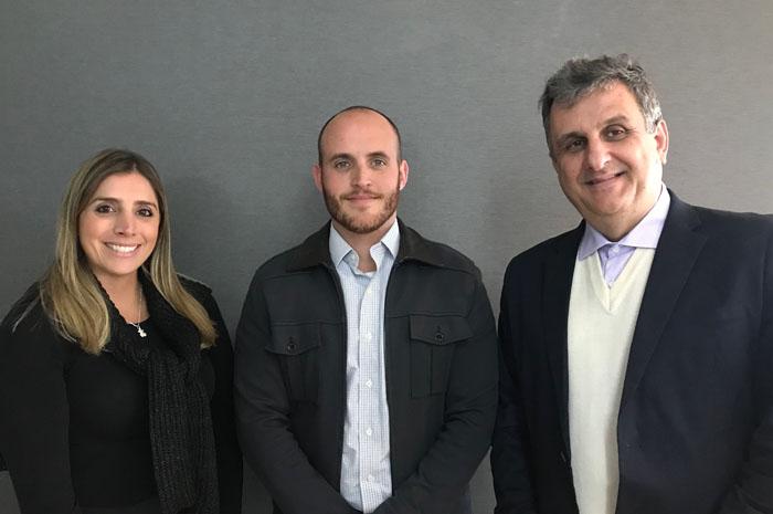 Paula Rorato, Marcos Pessuto e Claiton Armelin