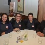 Paula Rufino, Géssika Krenca, Priscilla Mantovani e Michel Meneses, da GK Turismo