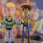 Personagens Buzz Lightyear e Wood