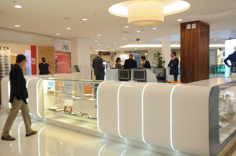 Pop Up Store da KLM está no Piso 3 do Shopping Leblon