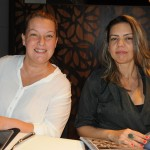 Raquel Dias, da SKL Eventos, e Daniela Nascimento, da Viagens D&D