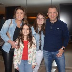 Roberta Lage, da Latam Travel e sua família