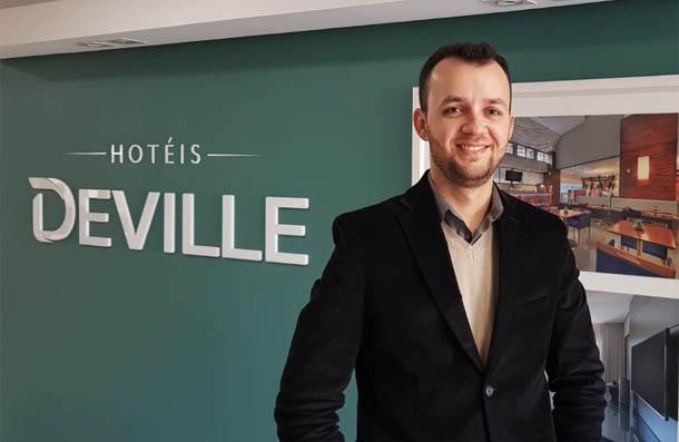 Rodrigo Delabheta Stipp, novo gerente de Operações Corporativo da Rede Deville