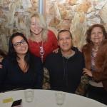 Rose Christe, da Skye Travel, Rute Garcia, da Dream Factory, Marcos Reis, da MR Turismo, e Marlene Graça, da Solo