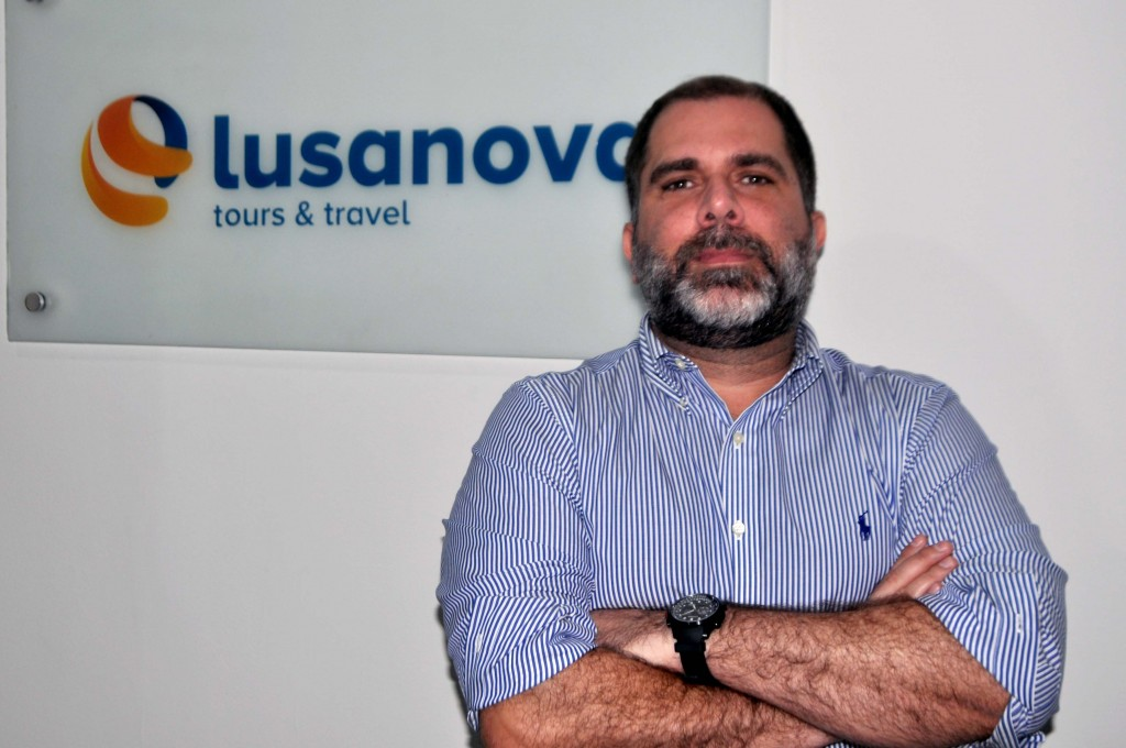 Sergio Vianna, gerente de Marketing e Vendas da Lusanova no Brasil