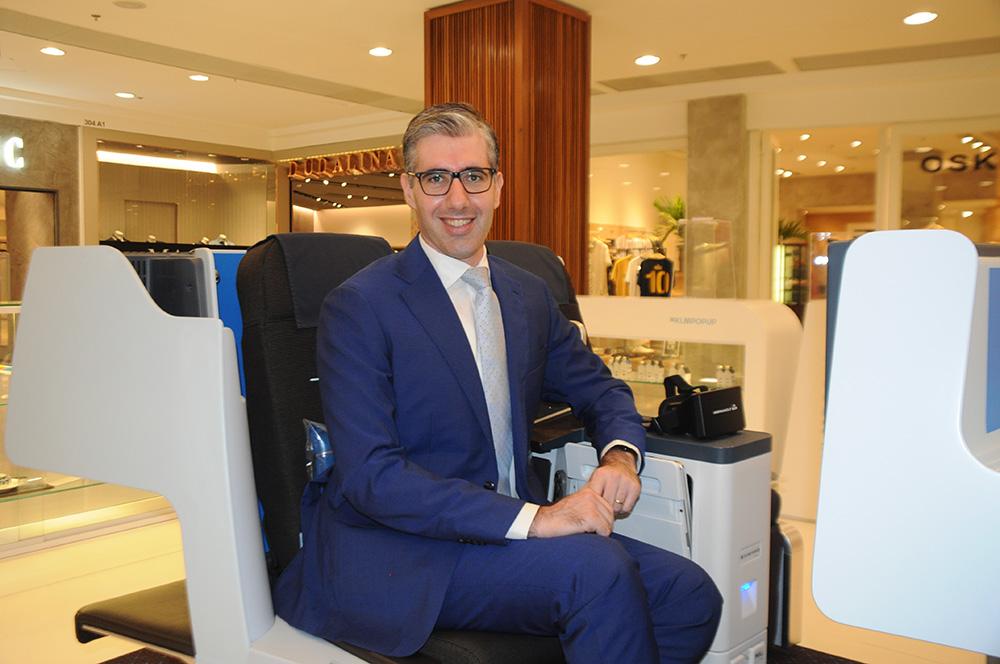 Seth van Straten, diretor Comercial da Air France-KLM para a América do Sul