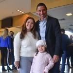 Tabatha Braga com sua família, Marina e Alexandre Ferreira, da Placetours