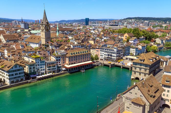 Umas das mais famosas marcas de chocolate, a Lindt, nasceu em Zurique na Suiça, em 1845