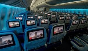 Delta chega ao recorde de 700 aeronaves com telas de entretenimento