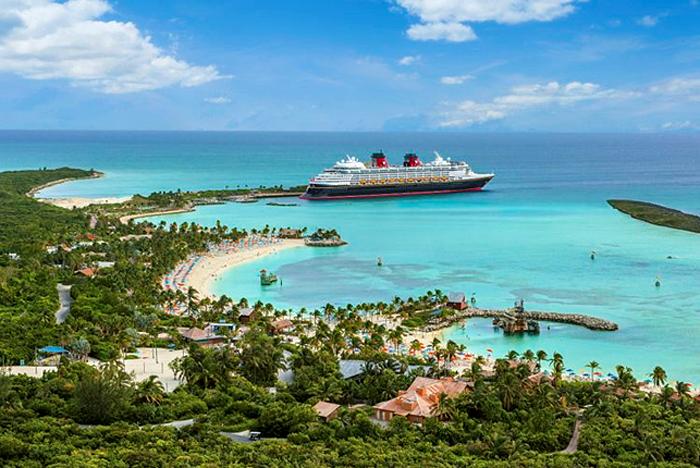 Roteiros da Disney Cruise Lines estão suspensos