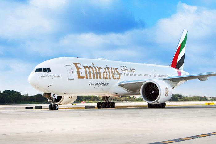 A nova rota será operada por um Boeing 777-200LR