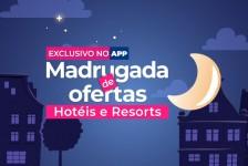 Hurb terá madrugada de ofertas para resorts nacionais e internacionais