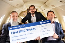Hahn Air emite seus primeiros bilhetes NDC
