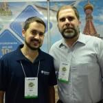 Adolfo Rocha e Sergio Vianna, da Lusanova Tours & Travel