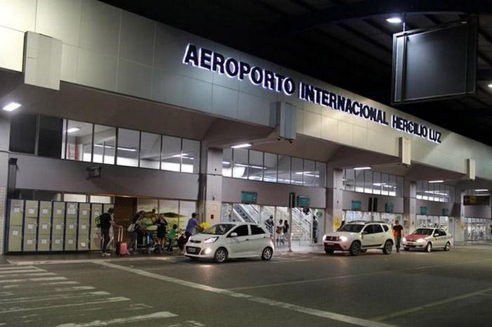 Aeroporto Internacional Hercilio Luz, em Florianópolis