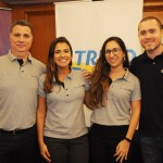 Alexandre Bruno, Giselle Campos, Taiane Martins e Renato Pichi, do Grupo Trend