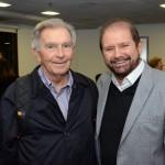 Alfrânio Lages, da Abav-AL, e Guilherme Paulus, da GJP