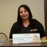Ana Alves, da secretaria de Turismo de Igarassu