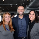 Ana Elisa Facchinato e Lizandra Pajak, do Brand USA, e Neto Fernandes, do Visit Las Vegas