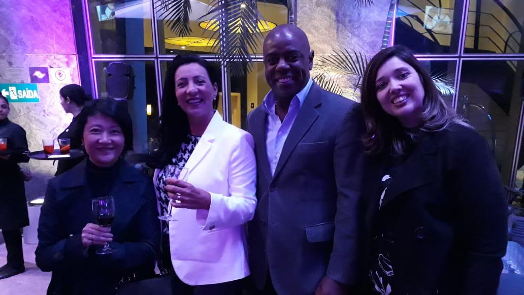 Equipe Trend: Ana Kuba, diretora MKT e Produtos, Cris Jayme, diretora Atendimento, Esequiel Santos, Relacionamento com o Mercado, e Débora Keszek, especialista Produtos Internacionais