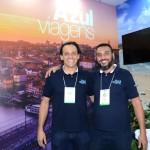 Andre Oliveira e Paulo Pitta, da Azul Viagens