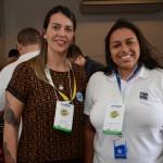 Anne Faria e Ana Carolina, da Secretária de Turismo de Ilhabela